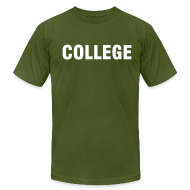 T-Shirts ~ Men's T-Shirt by American Apparel ~ College