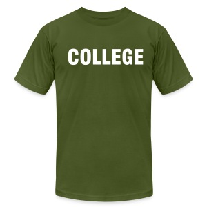 College - Men's T-Shirt by American Apparel