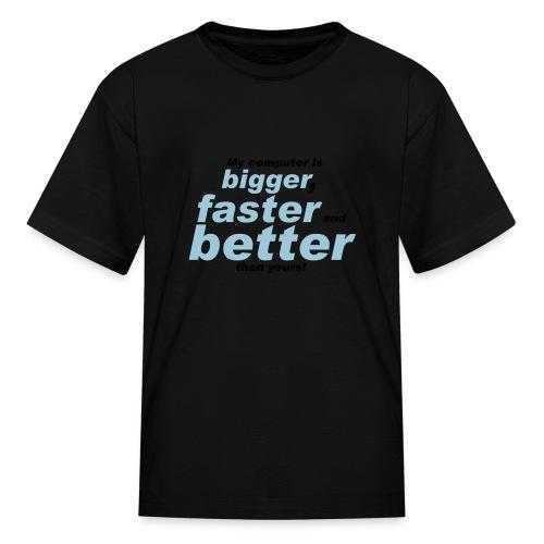 Computer Nerd T-shirt - Kids' T-Shirt