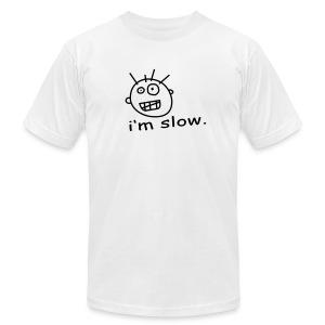 I'm slow - Men's Fine Jersey T-Shirt