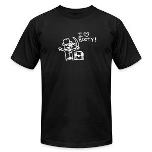 I love booty - Men's Fine Jersey T-Shirt