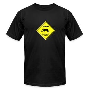 Caution:  - Men's Fine Jersey T-Shirt
