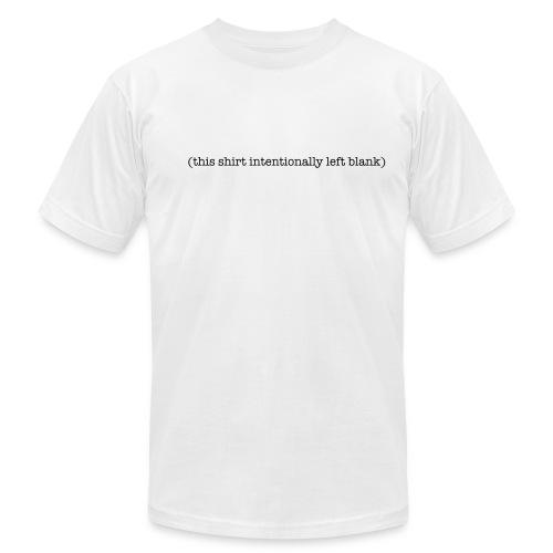 (this shirt intentinally left blank) - Men's  Jersey T-Shirt