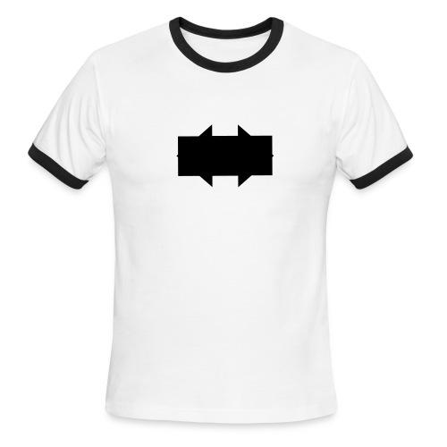 Barcode skateboards - Men's Ringer T-Shirt