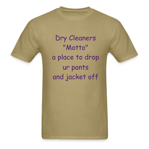 DRY CLEANERS - Men's T-Shirt