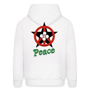 Peace t shirt -basque country- - Men's Hoodie