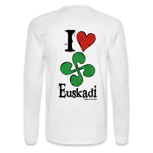 Love Basque country - Men's Long Sleeve T-Shirt