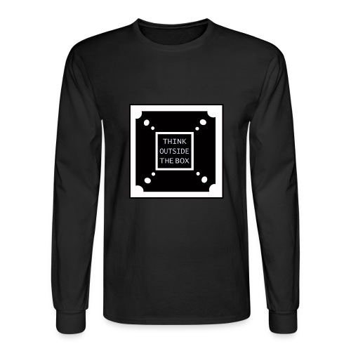 Think Outside The Box - Men's Long Sleeve T-Shirt