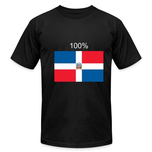 100% Dominicano - Men's Fine Jersey T-Shirt