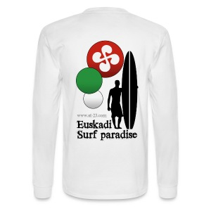 Surf paradise, Basque country - Men's Long Sleeve T-Shirt