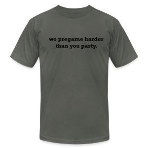 pregame t - Men's Fine Jersey T-Shirt