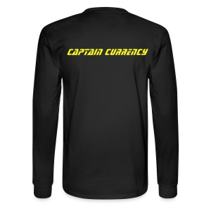 Captain Currency - Men's Long Sleeve T-Shirt