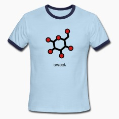 men's glucose ringer shirt