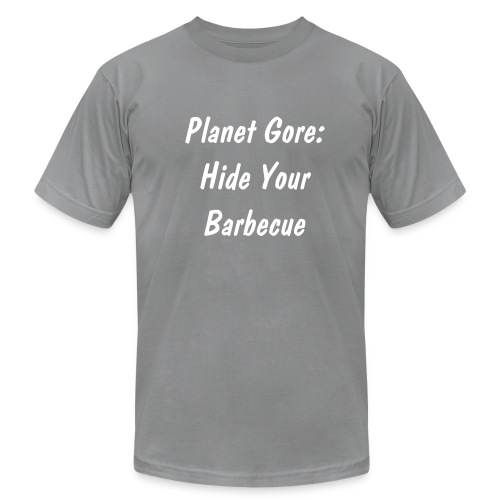 Planet Gore - Men's Fine Jersey T-Shirt