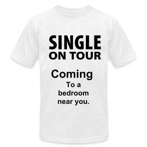 Men's Single on tour shirt - Men's  Jersey T-Shirt