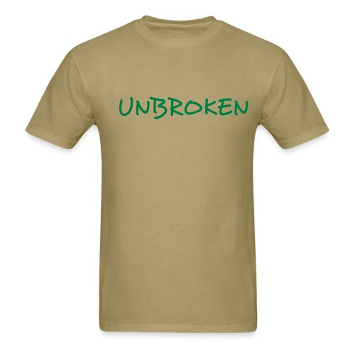 Men's khaki tee - Men's T-Shirt
