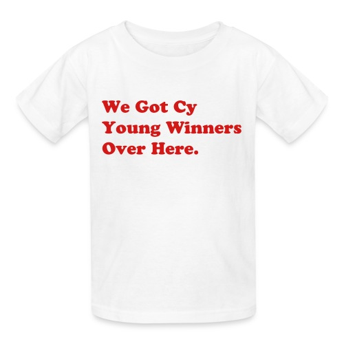 Child White/Red - Kids' T-Shirt