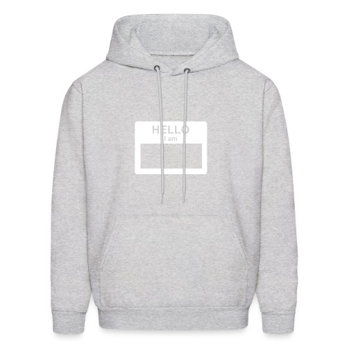 Hello, My Name is... - Men's Hoodie