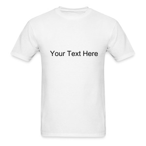 T-Shirt with Your text - Men's T-Shirt