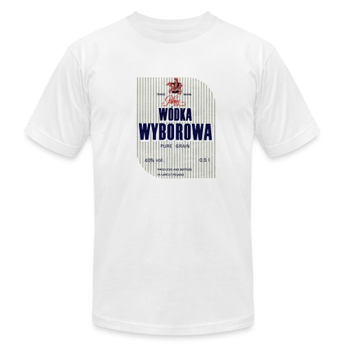 Wyborowa Polish Vodka Tee - Men's Fine Jersey T-Shirt