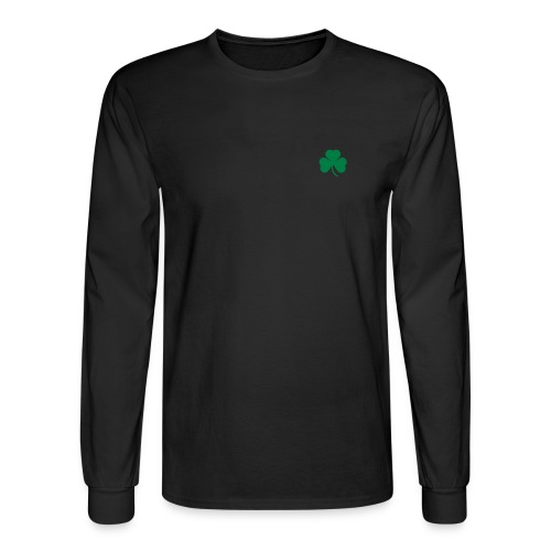 Mini-Shamrock: Men's Long-Sleeved - Men's Long Sleeve T-Shirt