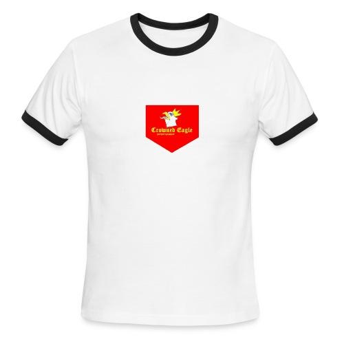 Crowned Eagle Tee - Men's Ringer T-Shirt