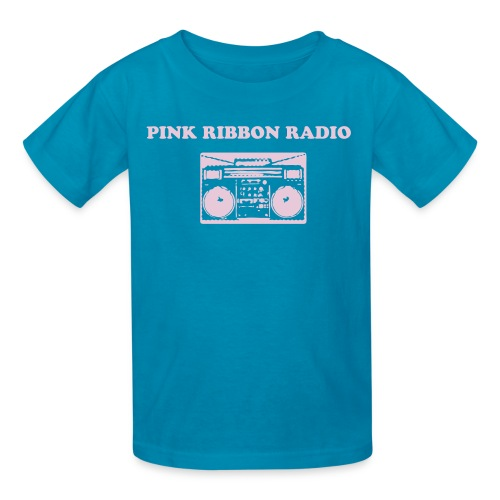 Kids' T-Shirt - All net proceeds from the sale of this tee will go towards the Pink Ribbon Radio fundraising goal of $2000!