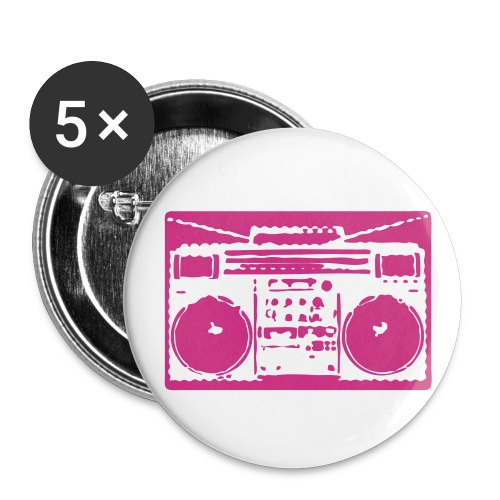 Large Buttons - All net proceeds from the sale of these buttons will go towards the Pink Ribbon Radio fundraising goal of $2000!