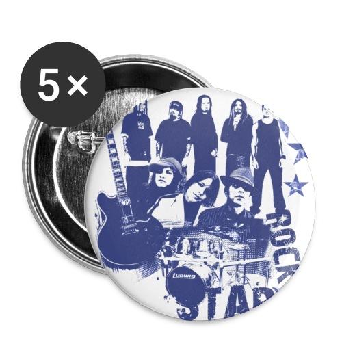 CJB Rockstar Buttons - Small Buttons