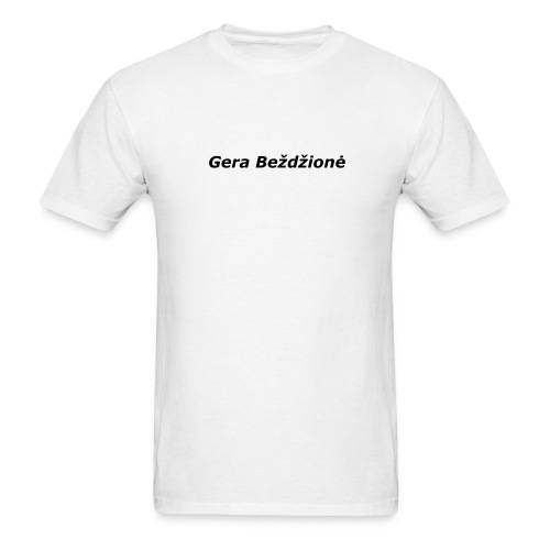 Lithuanian - Gera Beždžionė Special offer! - Men's T-Shirt