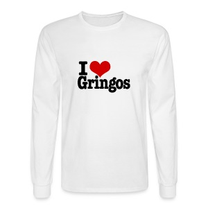 I Heart Gringos - Men's Long Sleeve T-Shirt