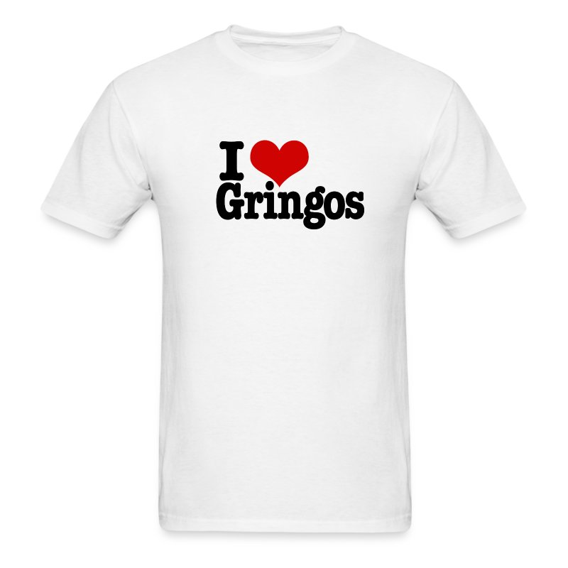 I Heart Gringos - Men's T-Shirt