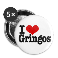 Buttons ~ Small Buttons ~ I Heart Gringos