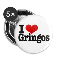 Buttons ~ Large Buttons ~ I Heart Gringos
