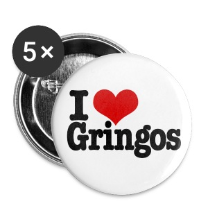 I Heart Gringos - Large Buttons