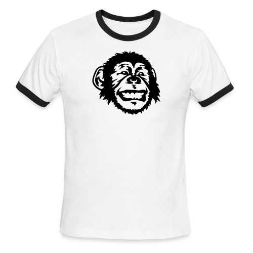 My Monkey Tee - Men's Ringer T-Shirt