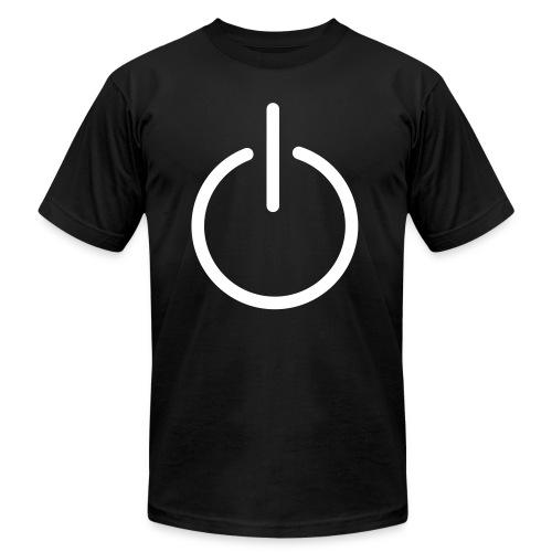 Power on - Men's Fine Jersey T-Shirt