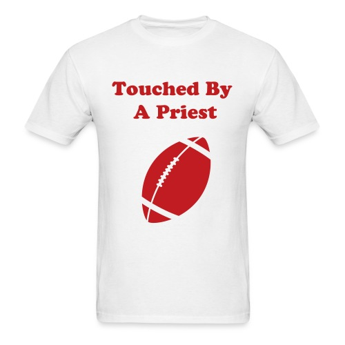 Priest Holmes Touched By A Priest T-Shirt - Men's T-Shirt