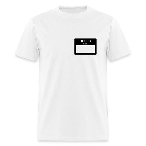 I Work At Wal-Mart White Tee - Men's T-Shirt