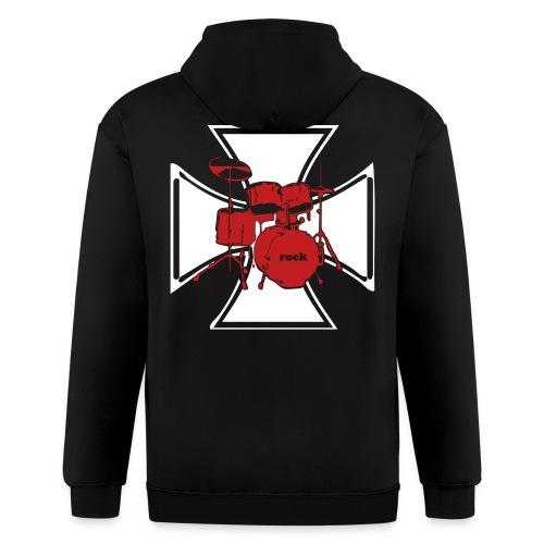 Ironcross Drummer - Men's Zip Hoodie