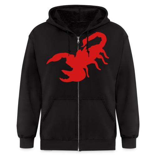 Scorpion Zipper Hoodie - Men's Zip Hoodie