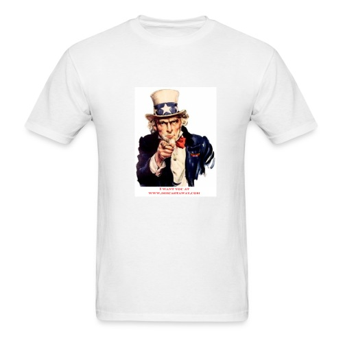 I Want You - Men's T-Shirt