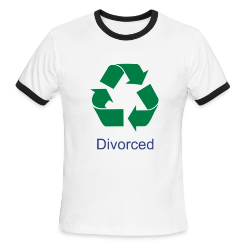 Recycled - Tshirt - Men's Ringer T-Shirt