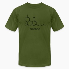 Olive SCIENCE T-Shirts