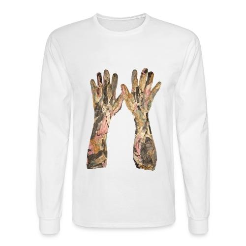 Original Art T-shirt Praise - Men's Long Sleeve T-Shirt