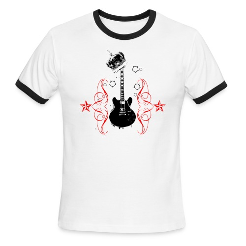 King of Rock - Men's Ringer T-Shirt