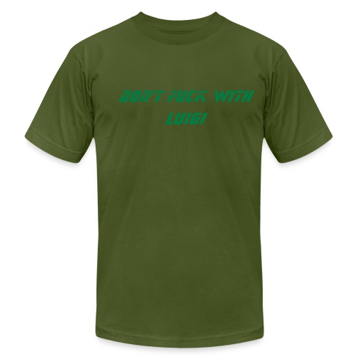 Don't fuck with luigi T - Men's  Jersey T-Shirt