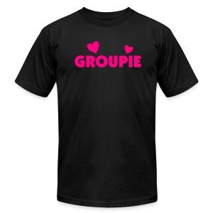 official groupie t - Men's Fine Jersey T-Shirt