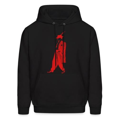 Gangster Hoody I Black/Red - Men's Hoodie
