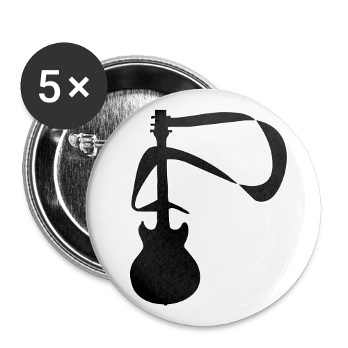 Guitar Pin - Buttons small 1'' (5-pack)